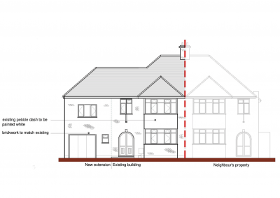 2 Dolphins Road Proposed Elevation-4961x3508