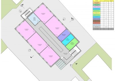 3 Towers School Proposed First Floor Plan-7515x6480