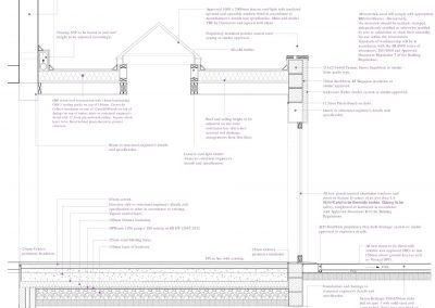 5 Marten Road Proposed Detail Section-4053x3369
